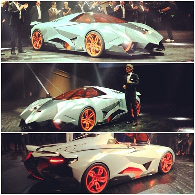 Lamborghini Egoista..the Ugliest Thing To Come Out Of
